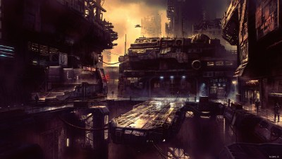 Science Fiction Future City 4k, HD Artist, 4k Wallpapers, Images, Backgrounds, Photos and Pictures