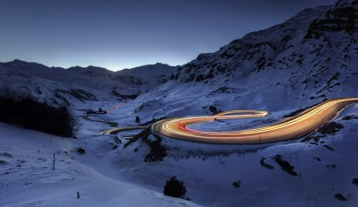 Snow Road Timelapse, HD Photography, 4k Wallpapers, Images, Backgrounds, Photos and Pictures