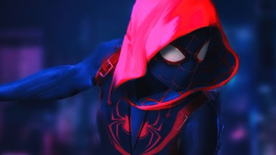 SpiderMan Into The Spider Verse Movie 4k Movie Artwork, HD Movies, 4k Wallpapers, Images ...