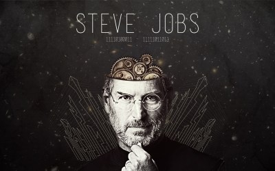 Steve Jobs, HD Typography, 4k Wallpapers, Images, Backgrounds, Photos and Pictures