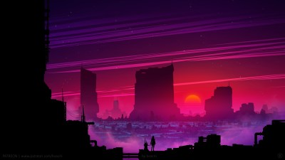Synthwave Future Scifi 5k, HD Artist, 4k Wallpapers, Images, Backgrounds, Photos and Pictures