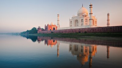 2048x1152 Taj Mahal River 2048x1152 Resolution HD 4k Wallpapers, Images, Backgrounds, Photos and ...