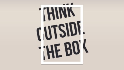 Think Outside The Box, HD Typography, 4k Wallpapers, Images, Backgrounds, Photos and Pictures