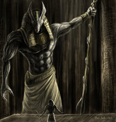 painting, Mythology, Anubis HD Wallpapers / Desktop and Mobile Images & Photos