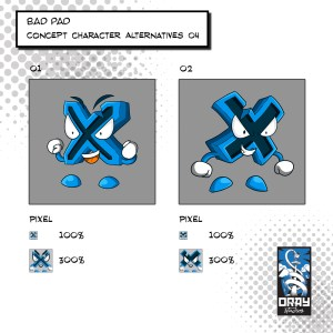 Bad Pad - Concept Character 4