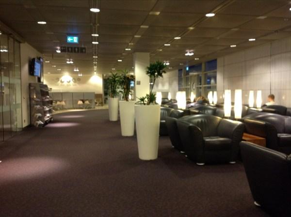 Lufthansa lounge Hamburg
