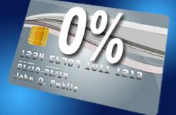 Zero percent balance transfers