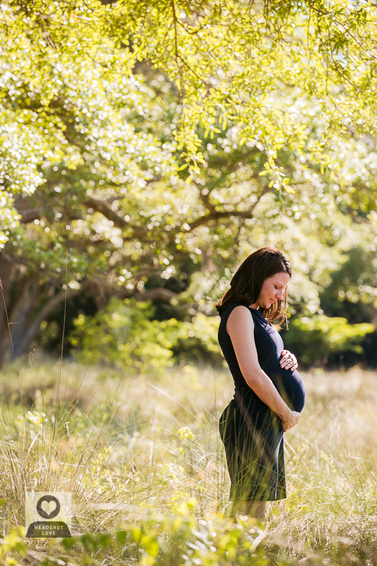 soft light maternity portrait