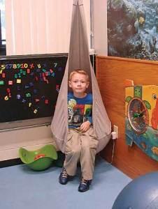 sensory corner swing