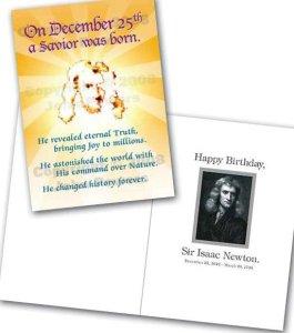 Sir Isaac Newton and Christmas Holidays