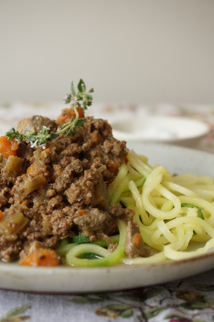 spaghetti bolognese AIP