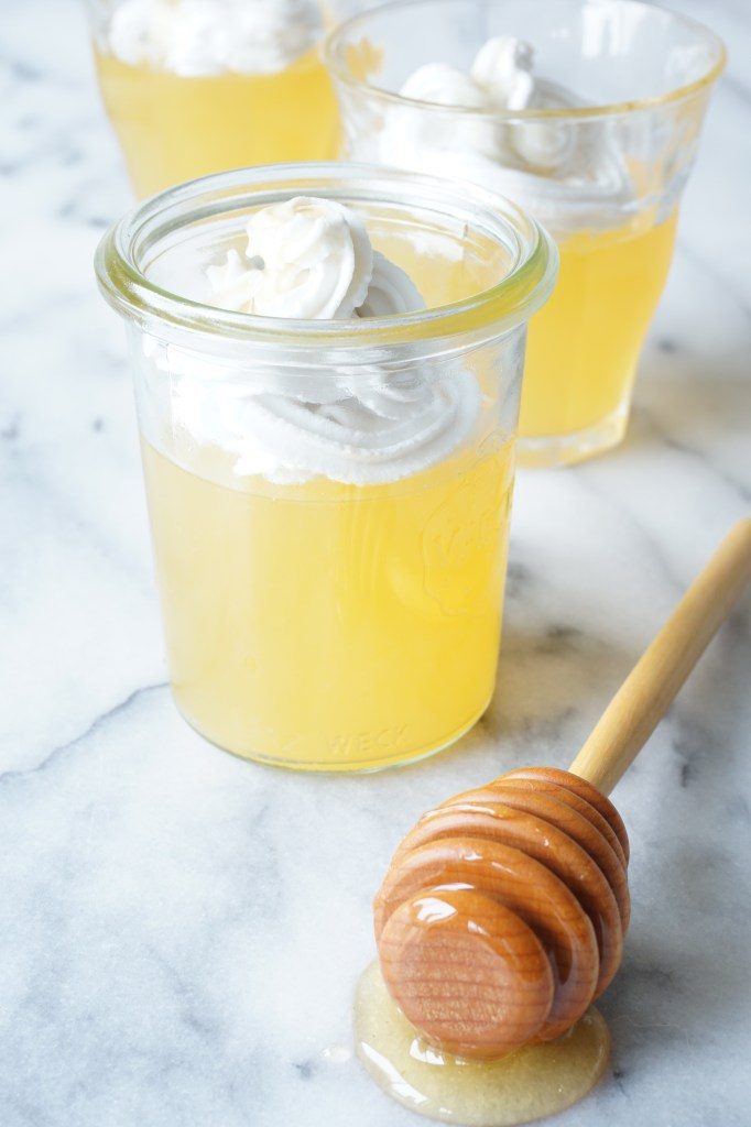 Orange Blossom + Honey Parfait