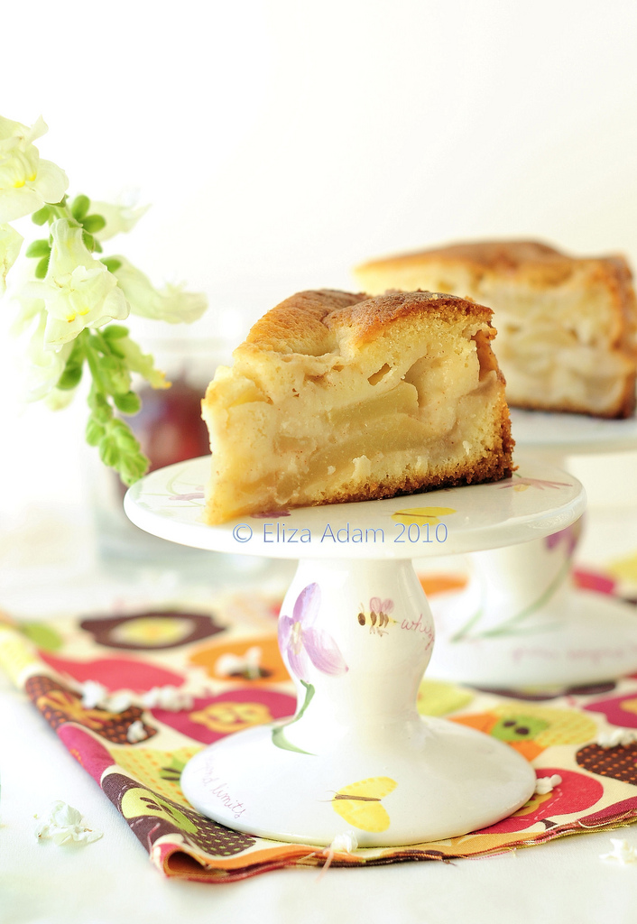 Paleo Jewish Apple Cake