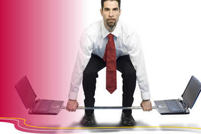 laptop deadlift Corporate Workplace Fitness   Has your desk been replaced by a treadmill?