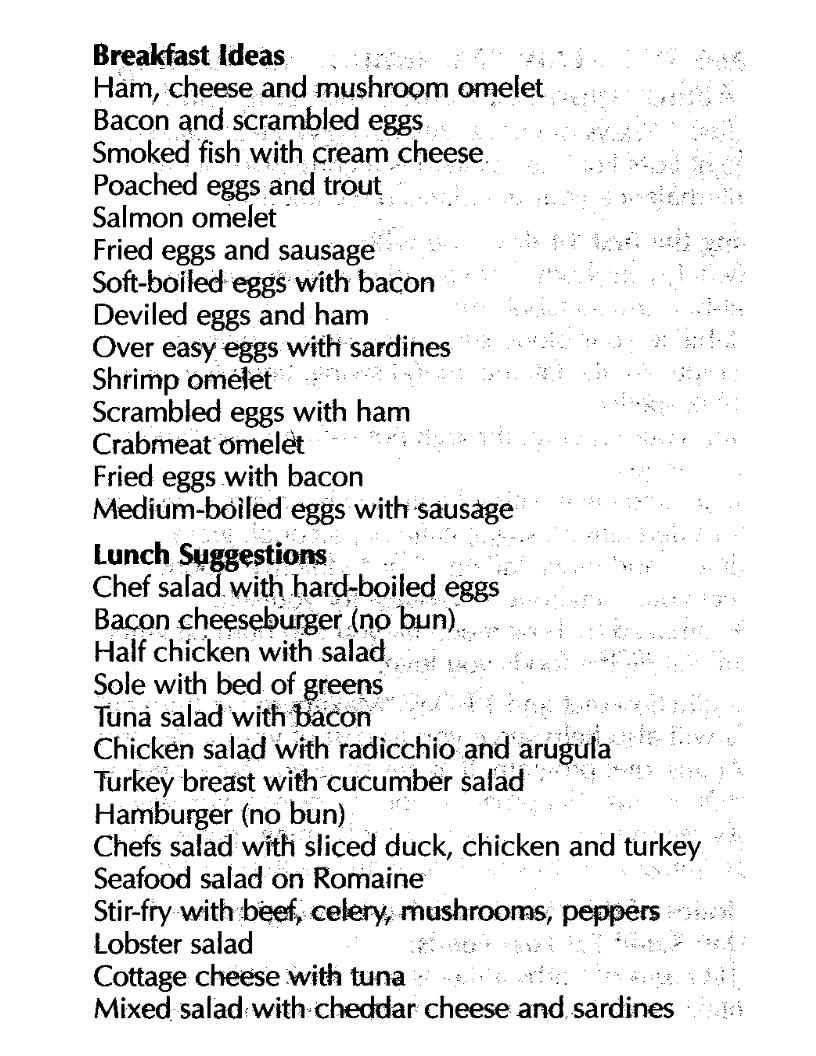 atkins diet phase 2 food list pdf