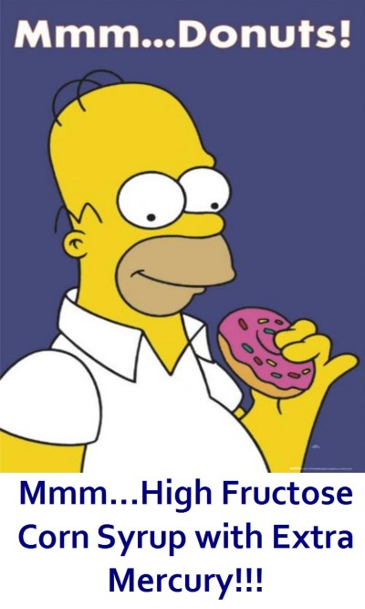 homer donut high fructose corn syrup mercury High Fructose Corn Syrup: Now with 33% More MERCURY