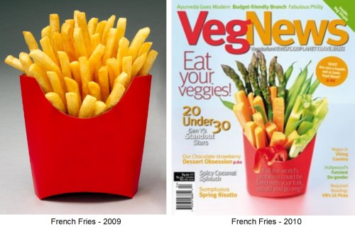 veggies french fries vegetables The Future of Fast Food