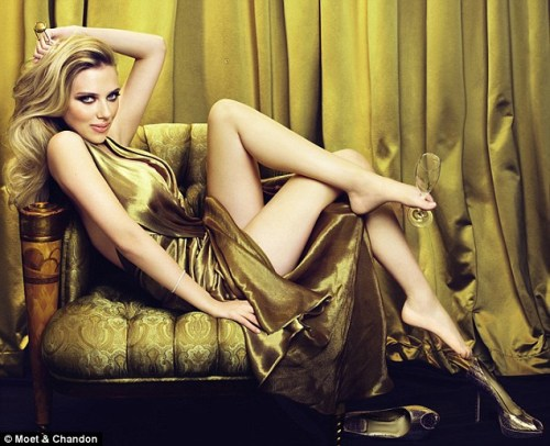 scarlett johansson moet Scarlett Johansson, Body Image, Health, Fitness and the Gossip Rags