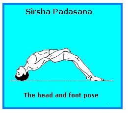 SHIRSHA PADASANA