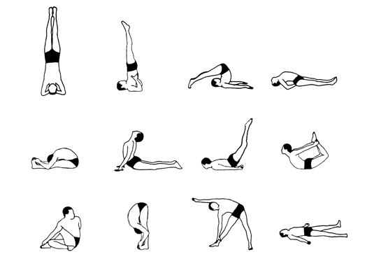 Mental Health and Awareness in Application of Yogasanas