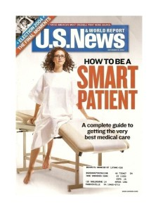 US News how to be a smart patient Nov 2004