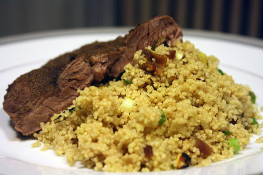 moroccan couscous with lamb