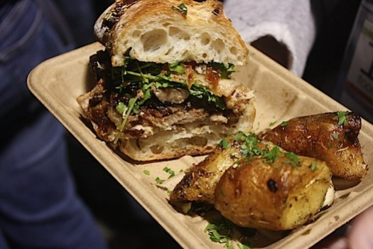 porchetta sandwich