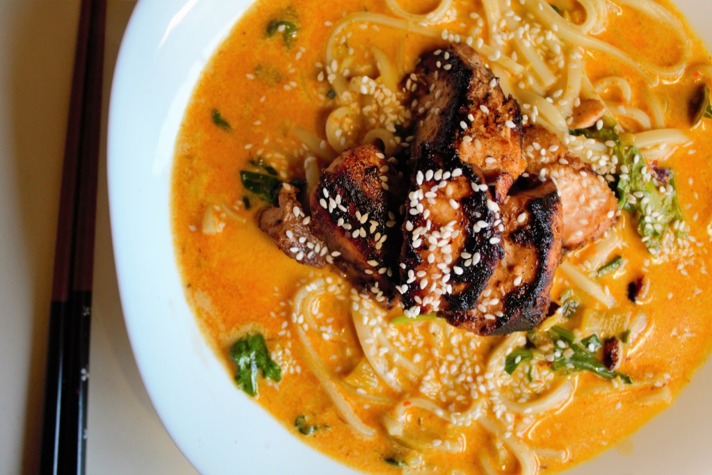 curried noodles