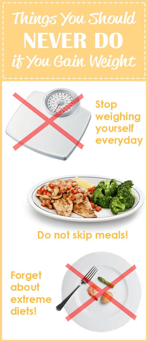 if You Gain Weight