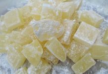 Elderflower candies