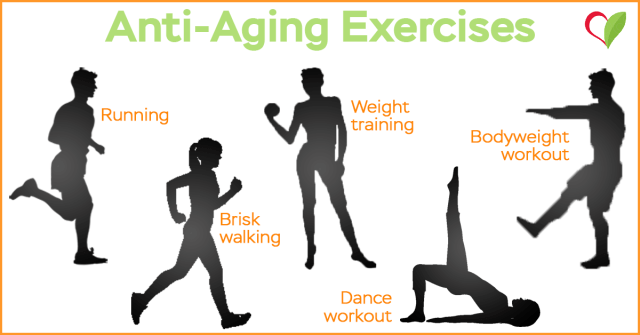 anti aging exercises
