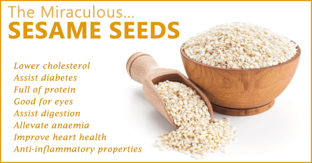 sesame benefits