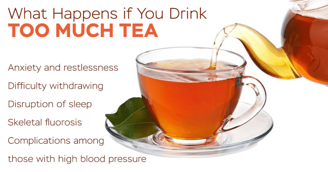 is drinking tea bad for you
