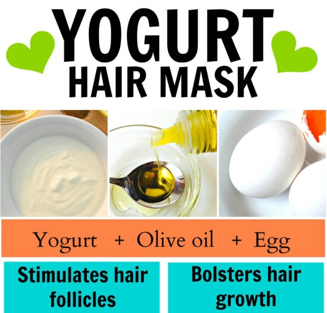 yogurt hair mask