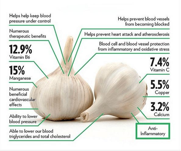 garlic health benefit