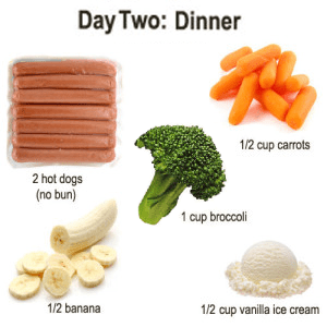 military-diet-day-2-dinner