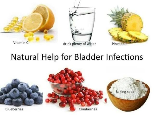 bladder infection remedies