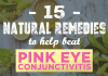 natural remedies for pink eye conjunctivitis