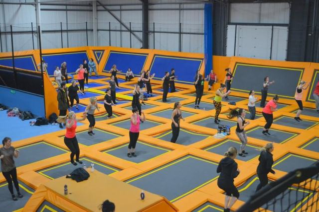 Jumping and rebounding classes