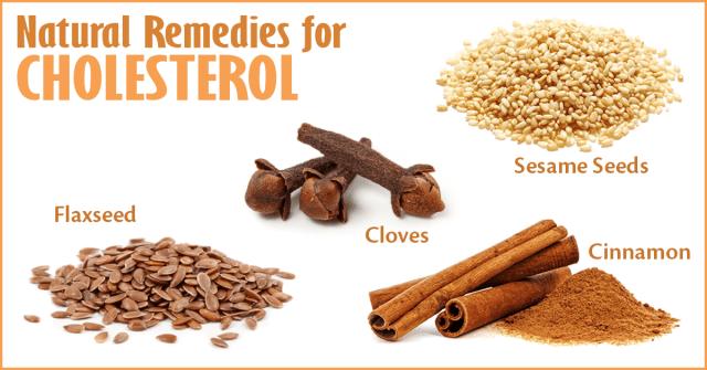 cholesterol remedies