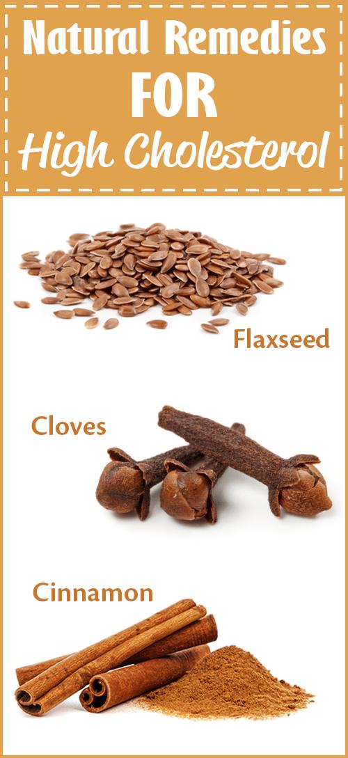 high cholesterol remedies