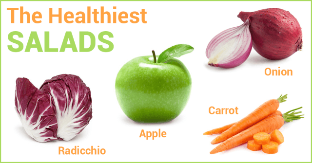healthiest salads in the world