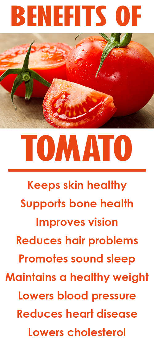 tomato health benefits