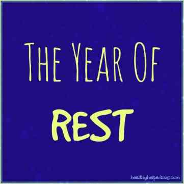 The Year of Rest