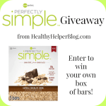 Foods of the Moment: Perfectly Simple Bar Giveaway!