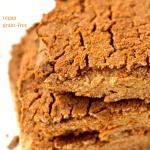 3 Ingredient Peanut Butter Blondies [vegan + grain-free]