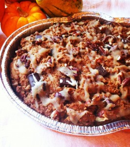 An ooey gooey treat from the traditional pumpkin pie that all will enjoy without any refined sugars