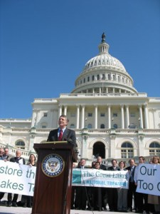 Healing Our Waters Coalition - Great Lakes members in DC