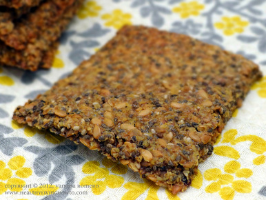 Chia Flax Crackers Image
