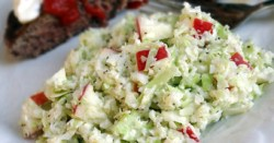 Sweet and Sour Apple Slaw